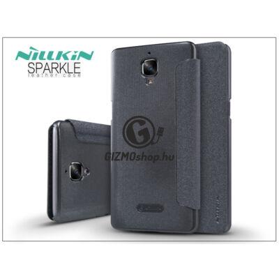 OnePlus 3 (A3000)/OnePlus 3T (A3010) oldalra nyíló flipes tok – Nillkin Sparkle – fekete