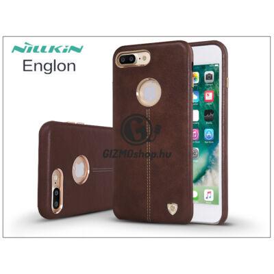 Apple iPhone 7 Plus hátlap – Nillkin Englon – barna