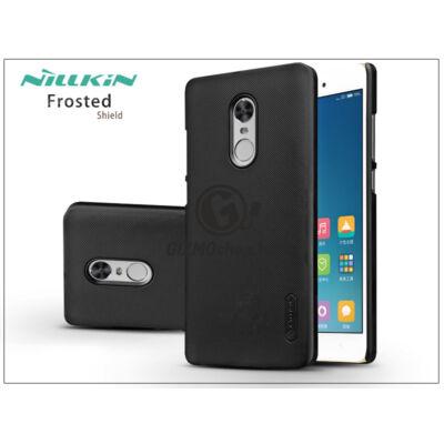 Xiaomi Redmi Note 4 Global/Note 4X hátlap képernyővédő fóliával – Nillkin Frosted Shield – fekete