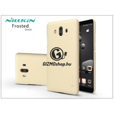 Huawei Mate 10 hátlap képernyővédő fóliával – Nillkin Frosted Shield – gold
