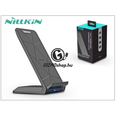 Nillkin Qi univerzális vezeték nélküli töltő állomás 2A – Nillkin Fast Wireless Charging Stand – fekete – Qi szabványos