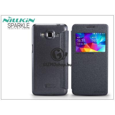 Samsung SM-G530 Galaxy Grand Prime oldalra nyíló flipes tok – Nillkin Sparkle – fekete