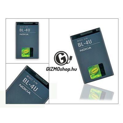 Nokia 3120 classic/E66/6600 slide gyári akkumulátor – Li-Ion 1000 mAh – BL-4U/BL-4UL (csomagolás nélküli)