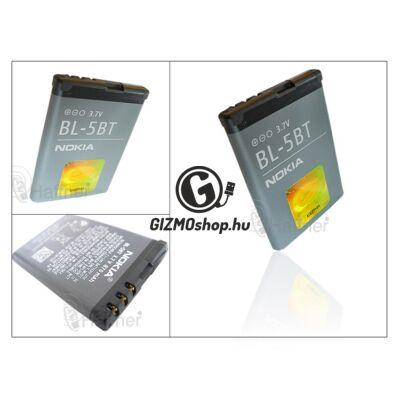 Nokia 2600 Classic/7510 Supernova gyári akkumulátor – Li-Ion 870 mAh – BL-5BT (csomagolás nélküli)
