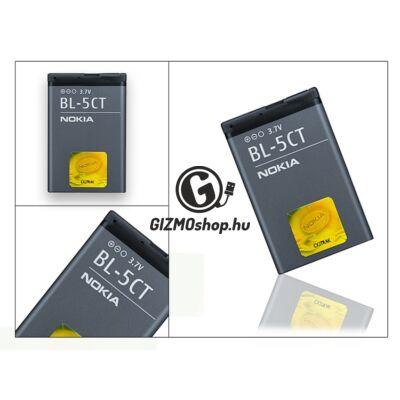 Nokia 5220 XpressMusic/6303 Classic gyári akkumulátor – Li-Ion 1050 mAh – BL-5CT (csomagolás nélküli)