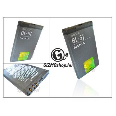 Nokia 5800 gyári akkumulátor – Li-Ion 1320 mAh – BL-5J (csomagolás nélküli)