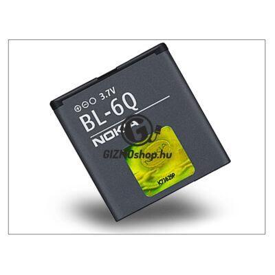 Nokia 6700 Classic gyári akkumulátor – Li-Ion 970 mAh – BL-6Q (csomagolás nélküli)