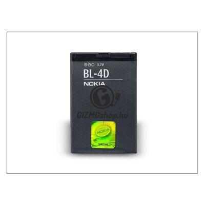Nokia N97 mini/E5–00/E7–00 gyári akkumulátor – Li-Ion 1200 mAh – BL-4D (csomagolás nélküli)