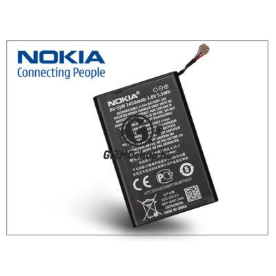 Nokia Lumia 800 gyári akkumulátor – Li-Ion 1450 mAh – BV-5JW (csomagolás nélküli)