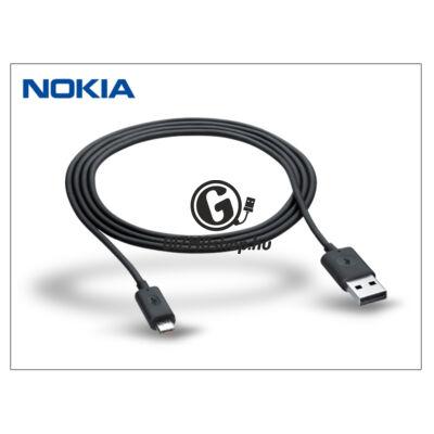 Nokia gyári micro USB töltő- és adatkábel 120 cm-es vezetékkel – CA-190CD – black (csomagolás nélküli)