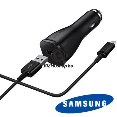 2.Samsung Type C autós töltő,15W,Fekete