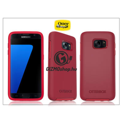 Samsung G930F Galaxy S7 védőtok – OtterBox Symmetry – rosso corsa