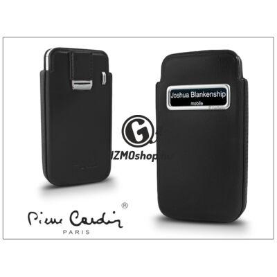 Pierre Cardin valódi bőrtok – Apple iPhone 4/4S – Type-3 – fekete