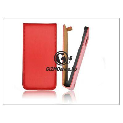 Slim Flip bőrtok – Apple iPhone 6 – piros