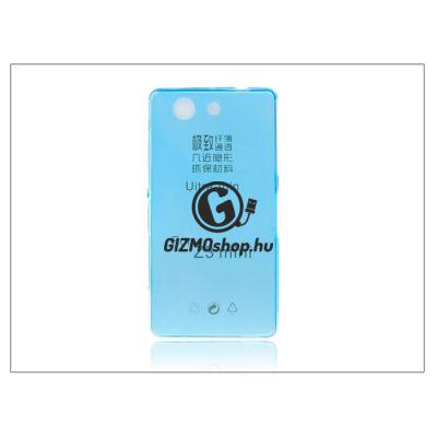 Sony Xperia Z3 Compact (D5803) szilikon hátlap – Ultra Slim 0,3 mm – kék