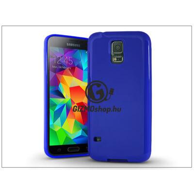 Samsung SM-G900 Galaxy S5 szilikon hátlap – Jelly Bright 0,3 mm – kék