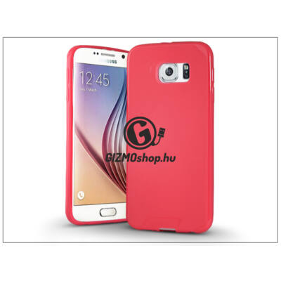 Samsung SM-G920 Galaxy S6 szilikon hátlap – Jelly Bright 0,3 mm – pink