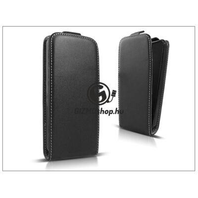 Slim Flexi Flip bőrtok – Samsung G935F Galaxy S7 Edge – fekete