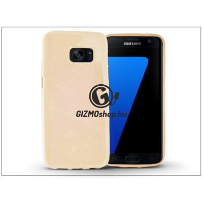 Samsung G930F Galaxy S7 szilikon hátlap – Jelly Flash – gold