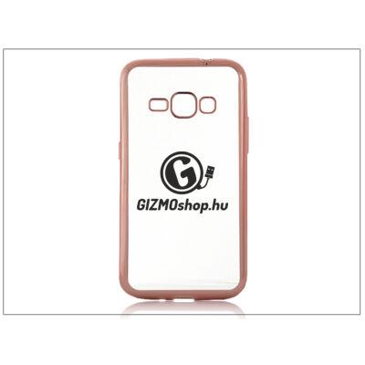 Samsung J120F Galaxy J1 (2016) szilikon hátlap – Jelly Electro – rose gold