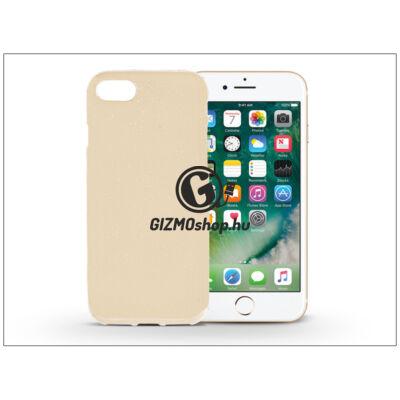 Apple iPhone 7 szilikon hátlap – Jelly Flash – gold