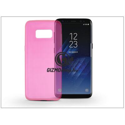 Samsung G950F Galaxy S8 szilikon hátlap – Ultra Slim 0,3 mm – pink