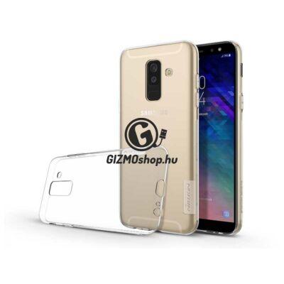 Samsung A605 Galaxy A6 Plus (2018) szilikon hátlap – Soft Clear – transparent