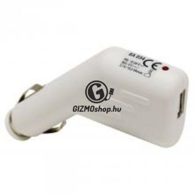 Autós USB töltő, 2,1A