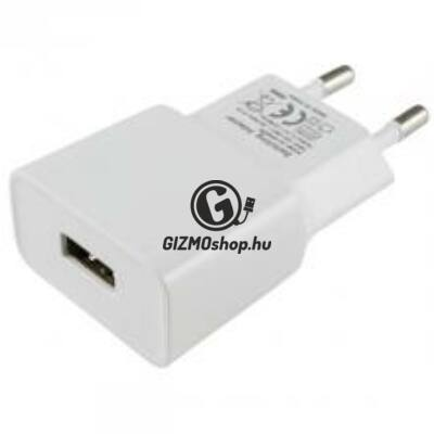 Adapter USB aljzattal, 2,1A
