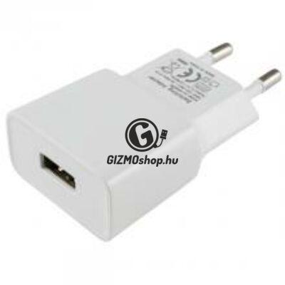 Adapter USB aljzattal, 2,1A