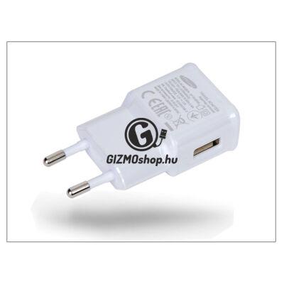 Samsung gyári USB hálózati töltő adapter – 5V/2A – EP-TA10EWE/TA12EWE white (csomagolás nélküli)