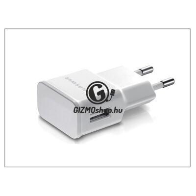 Samsung gyári USB hálózati töltő adapter – 5V/1A – ETA0U81EWE white (csomagolás nélküli)