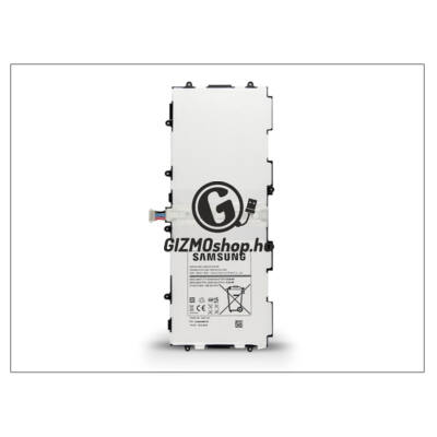 Samsung P5200 Galaxy Tab 3 10.1 gyári akkumulátor – Li-Ion 6820 mAh – T4500E (csomagolás nélküli)