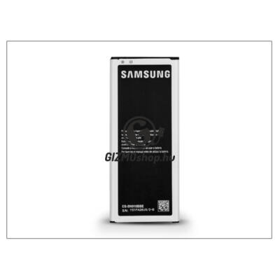 Samsung SM-N910 Galaxy Note 4 gyári akkumulátor – Li-Ion 3220 mAh – EB-BN910BBK NFC (csomagolás nélküli)