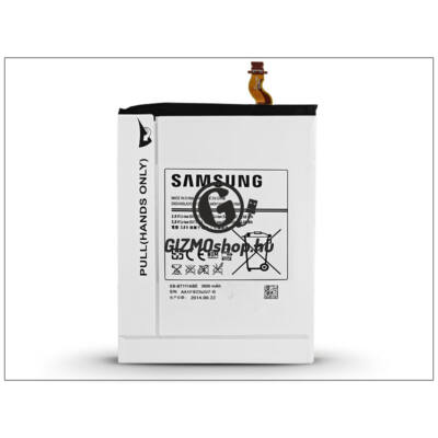 Samsung SM-T111 Galaxy Tab 3 7.0 Lite 3G gyári akkumulátor – Li-Ion 3600 mAh – EB-BT111ABE (csomagolás nélküli)