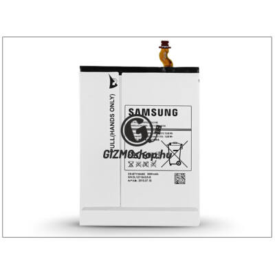 Samsung SM-T116 Galaxy Tab 3 V gyári akkumulátor – Li-Ion 3600 mAh – EB-BT116ABE (csomagolás nélküli)