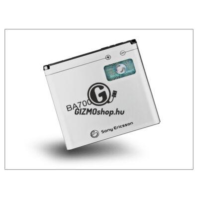 Sony Xperia E/Sony XPERIA Miro/XPERIA Tipo gyári akkumulátor – Li-Polymer 1500 mAh – BA700 (csomagolás nélküli)