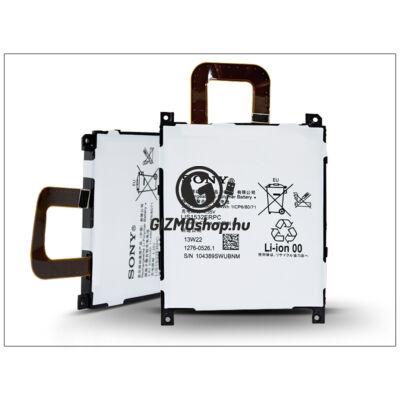 Sony Xperia Z1s (C6916) gyári akkumulátor – Li-Polymer 3000 mAh – LIS1532ERPC (csomagolás nélküli)