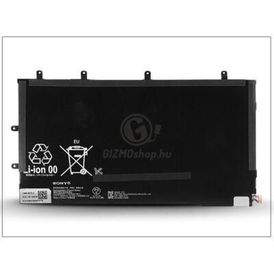 Sony Xperia Tablet Z gyári akkumulátor – Li-Polymer 6000 mAh – LIS3096ERPC (csomagolás nélküli)