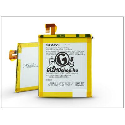 Sony Xperia T2 Ultra gyári akkumulátor – Li-Polymer 3000 mAh – LIS1554ERPC (csomagolás nélküli)