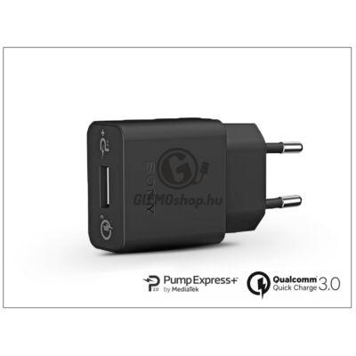 Sony USB gyári hálózati gyorstöltő adapter – QC 3.0 Quick Charger – 5V/2,7A és 9V/1,8A és 12V/1,35A – UCH12 (ECO csomagolás)