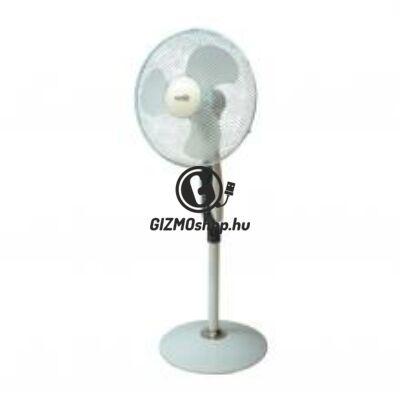 Állványos ventilátor távirányítóval, 40cm, 45W
