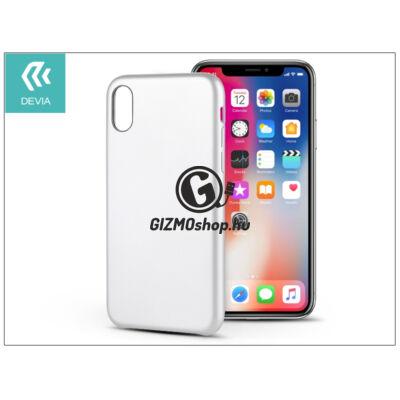 Apple iPhone X hátlap – Devia Ceo 2 – white