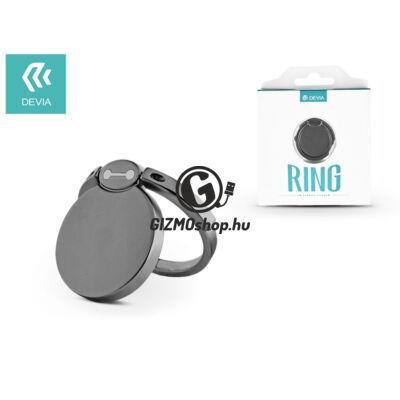 Devia ring holder/szelfi gyűrű és kitámasztó – Devia Finger Hold Bmax – gun black