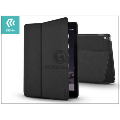 Apple iPad Air 2/iPad Pro 9.7 védőtok (Book Case) on/off funkcióval – Devia Elite – black