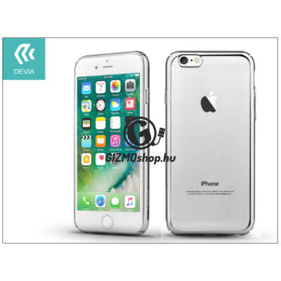 Apple iPhone 7 hátlap – Devia Glimmer – silver