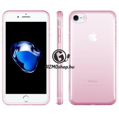 iPhone 8 ultravékony szilikon hátlap, Pink