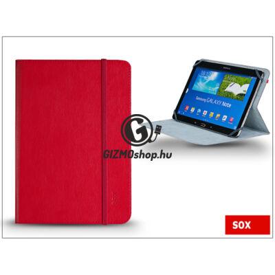 """SOX univerzális tok 8"""" méretű tablet készülékekhez – SMART SLIM TABLET – piros"""