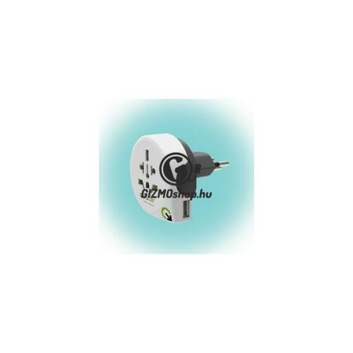 "Utazóadapter ""World to Switzerland USB"""