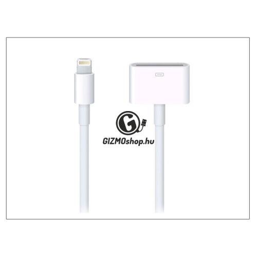 Apple iPhone 5/5S/5C/SE/iPad 4/iPad Mini eredeti, gyári Lightning adapter kábel korábbi 30 pólusú csatlakozó illesztéséhez – MD824ZM/A